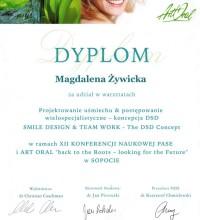 Projektowanie uśmiechu i postępowanie wielospecjalistyczne - koncepcja DSD - Magdalena Żywicka