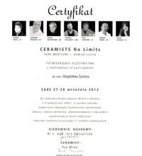 Ceramists - No limits - Kurs medyczny - lek. stom. Magdalena Żywicka