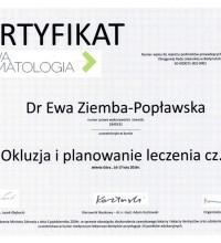 Okluzja i planowanie leczenia cz. I - Dr Ewa Ziemba-Popławska