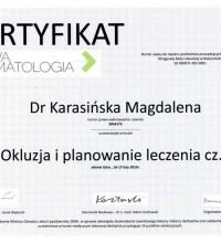Okluzja i planowanie leczenia cz. I - Dr Magdalena Karasińska