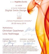 DSD - Digital Smile Design - Cyfrowe Projektowanie Uśmiechu - lek. stom. Magdalena Żywicka