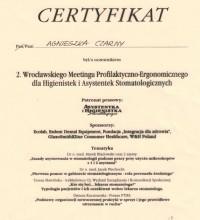 2. Wrocławski Meeting Profilaktyczno-Ergonomiczny dla Higienistek i Asystentek Stomatologicznych - Agnieszka Czarny