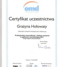 Profesjonalna komunikacja i obsługa pacjenta w gabinecie stomatologicznym - Grażyna Hołowaty