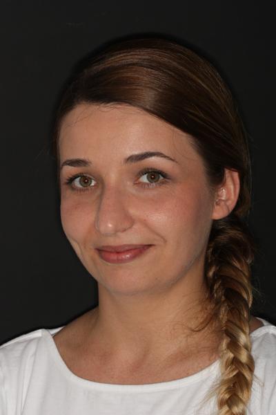 Praktykantka Izabela Mandrykowska po III roku studiów