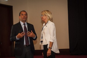 Dr Fernando Rojas-Vizcaya i dr Magdalena Żywicka