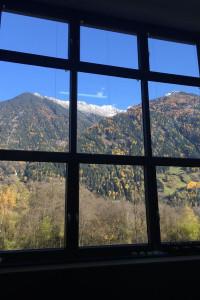 Przepiękny widok na Tyrol z naszej pracowni