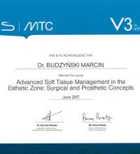 Advanced Soft Tissue Management - Dr Marcin Budzyński