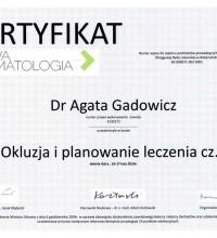 Okluzja i planowanie leczenia cz. I - Dr Agata Gadowicz