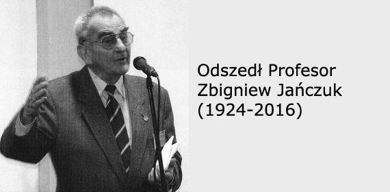 prof. Zbigniew Jańczuk 1924-2016 - źródło Dentonet.pl