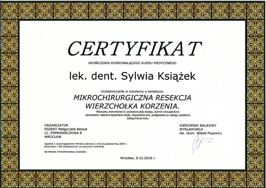Międzynarodowy Kongres Pulp Fiction 18 - lek. dent. Sylwia Książek