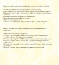 Ogólnopolskie szkolenia z zakresu funkcjonowania systemu ochrony zdrowia 2 – Dr Malwina Krasicka