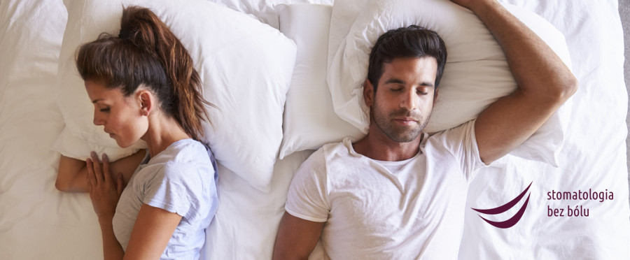 Overhead View Of Couple With Relationship Problems Lying In Bed
